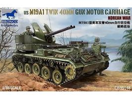 US M19A1 Twin 400mm Gun Motor Carriage Korean War