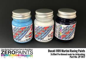 Ducati 1199 Martini Racing Paints 3x30ml
