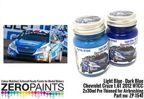 Light Blue / Dark Blue - Chevrolet Cruze 2012 WTCC