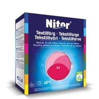 Nitor Tekstilfarge, Fuksia 04