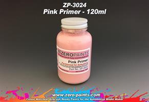 Pink Primer/Undercoat 120ml Airbrushing