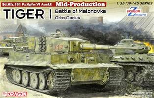 Tiger I Mid-Production w/Zimmerit Otto Carius