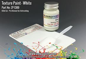 White Textured Paint - 60ml (Engines, Interiors et