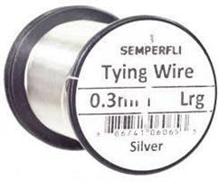 0.3 mm wire -Bright Silver