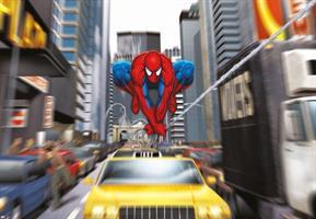 Komar fototapet Spiderman Rush hour