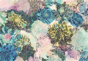 Komar fototapet Frisky Flowers