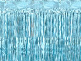Party curtain,  baby blue  0.9/2.5m