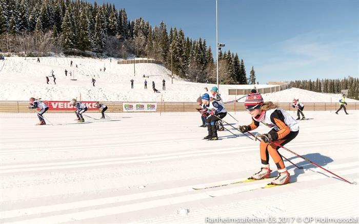Velkommen til Ranheimstafetten /KM sprintstafett 8.mars