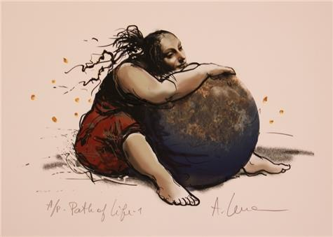 Lena Akopian-Path of life I