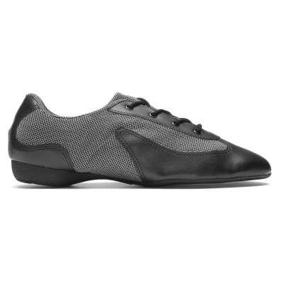 Dance sneaker sort / sølv