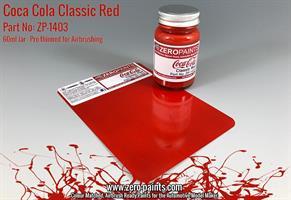 Coca Cola Classic Red Paint 60ml