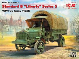 Standard B 'Liberty' Series 2 WWI US Army Truck