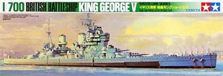 British King George Battleship - CP125