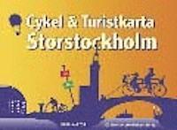 Cykel och turistkarta Stockholm