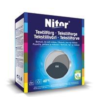 Nitor Tekstilfarge, Antrasitt 66