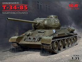 T-34-85, WWII Soviet Medium Tank