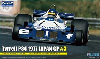 Tyrrell P34 Japan Grand Prix #3 Wide Tread (Peters