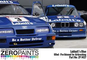 Labatt's Blue Paint 60ml (BMW M3, Ford Sierra RS50
