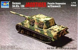 German Sd.Kfz. 186 Jagdtiger Porsche Suspension w/