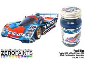 Pearl Blue Porsche 962C Le Mans 24 Hours 1990