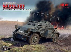 Sd.Kfz.223, German Radio Communication Vehicle