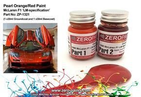 1998 Mclaren F1 LM-Spec Orange/Red