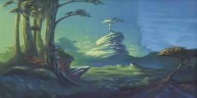 Sigbjørn R Galåen-Spiritual forest