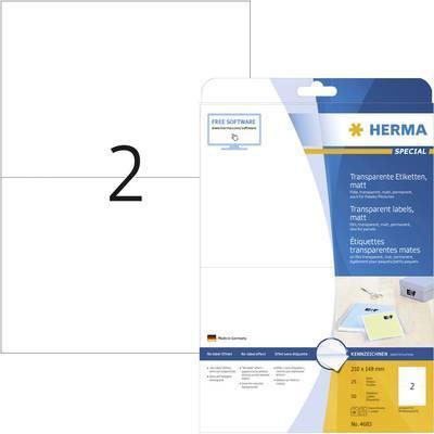 ETIKETT, HERMA RECY 210x148 100P