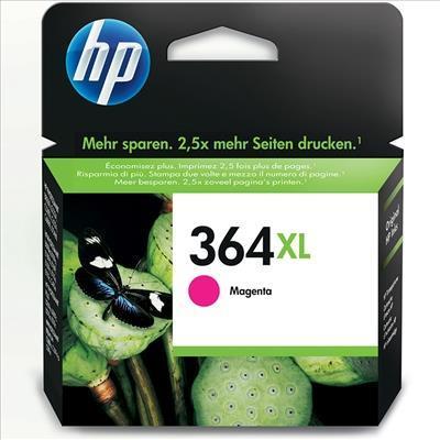BLÄCKPATRON, HP 364XL, CBM324EE, MAGENTA