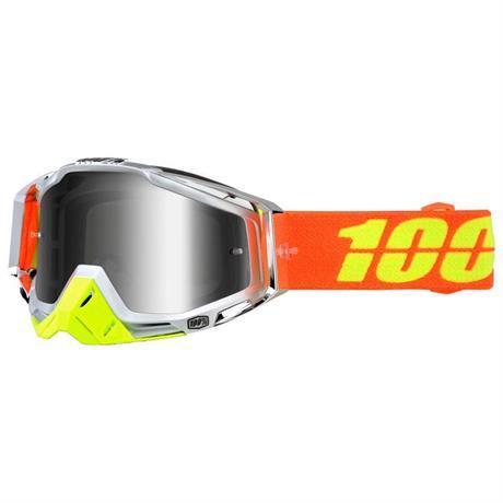 100% RACECRAFT AIRSTR. GOGGLE ORANGE/SILVER