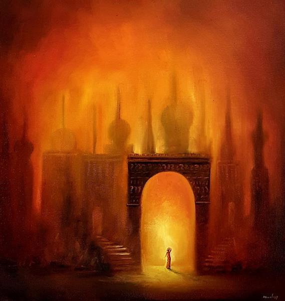 Ellen Hegg - The gate of light