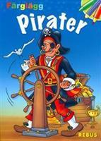 Pirater - färgläggning