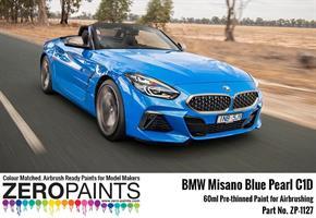 BMW Misano Blue Pearl