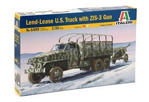 Land Lease US Truck & ZIS-3 Gun