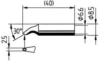 Tip Ersadur SolderWell concave
