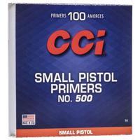 TÄNDHATT CCI 500 SMALL PISTOL (100)