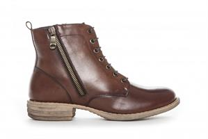 Duffy Boots Snörning Brun