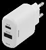 LADDARE, 230V, USB-C/USB-A, DELTACO