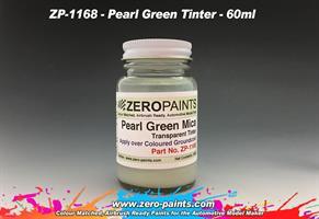 Pearl Green Mica Transparent Tinter Paint 60ml