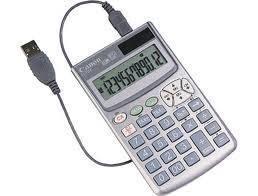 RÄKNARE, CANON LS-12PC, USB