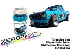 Turquoise Blue Paint