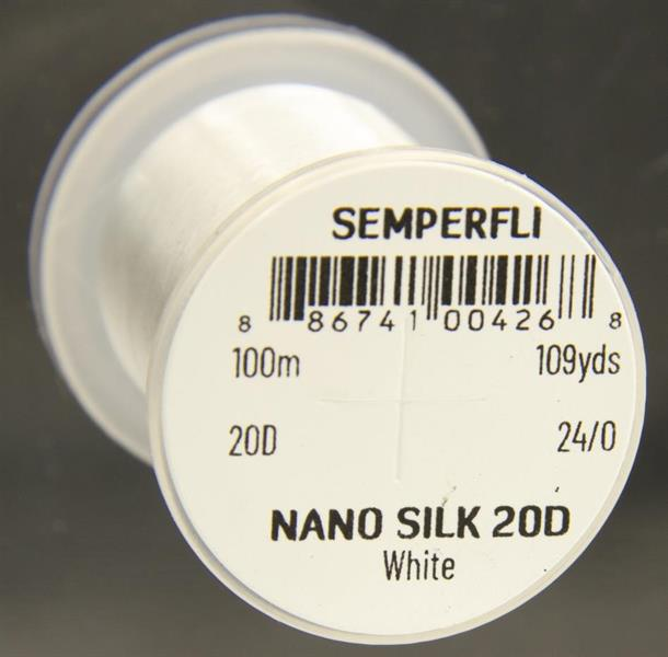 Nano Silk 20d 24/0-100m Vit