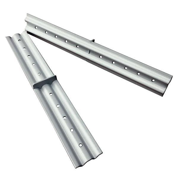 Kopplingsbeslag med 2mm distans 250x35 Aluminium