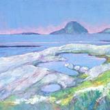 AKRYLMALERI, Kunna sett i fra Meløya