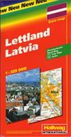 Lettland 1:325 000
