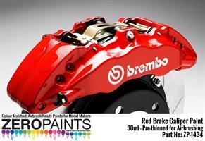 Brake Caliper Red Paint 30ml