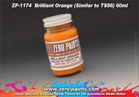 Brilliant Orange Paint (Similar to TS56) 60ml
