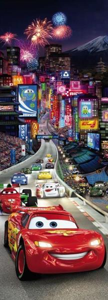 Komar fototapet Disney Cars Tokyo