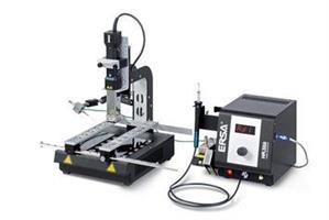 Hybrid rework w. heating plate