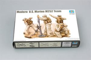 Modern US Marine M252 Team